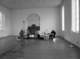 Angharad Davies, Steve Beresford and Simon Reynell, exploratory practice, 2014.