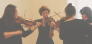 Mythos Y Feiolinau/Mythos of Violins, Angharad Davies and Laura Cannell with guest appearences of Bethan Miles and Bree Enemark, 20162016.